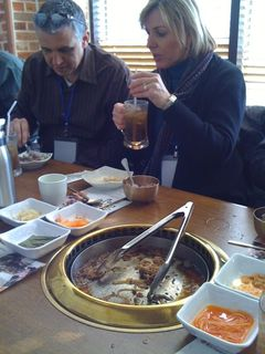 Lunch. First Real Korean Meal